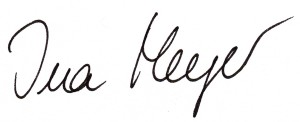 Unterschrift 1 - Ina